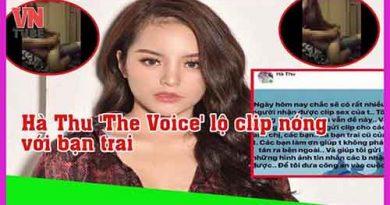 Hà Thu The Voice lộ clip nóng